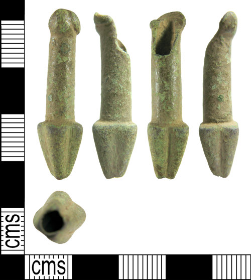 HAMP-7660EC: Late early-medieval/ early medieval prick spur