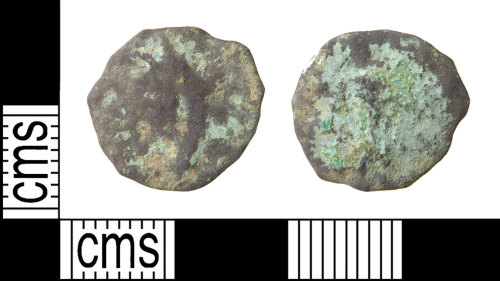 HAMP-788955: Roman coin : barbarous radiate copying a coin of an uncertain emperor