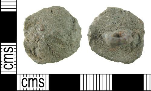 HAMP-7D7816: Post-medieval button