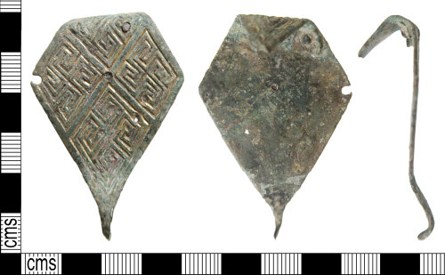 HAMP-7FBF17: Middle early-medieval brooch