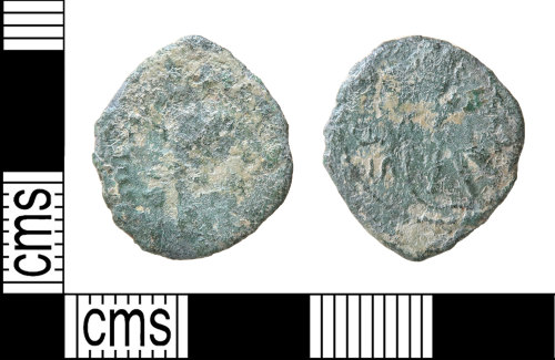 HAMP-83053D: Roman coin : barbarous radiate copying coin of uncertain emperor