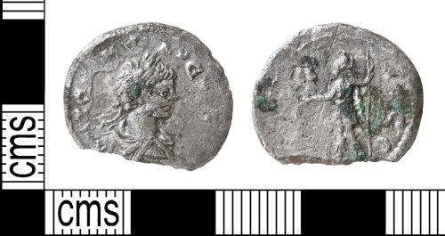 HAMP-8563BE: Roman coin : denarius of Caracalla