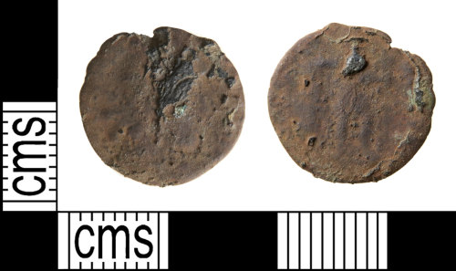 HAMP-87CAC9: Roman coin : nummus of the House of Valentinian