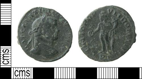 HAMP-8C7A96: Roman coin : nummus of Maximian