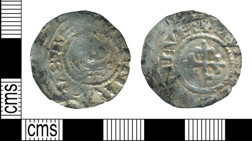 HAMP-8FADE7: Medieval coin : penny of Henry I