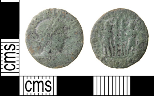 HAMP-931895: Roman coin : nummus of the House of Constantine