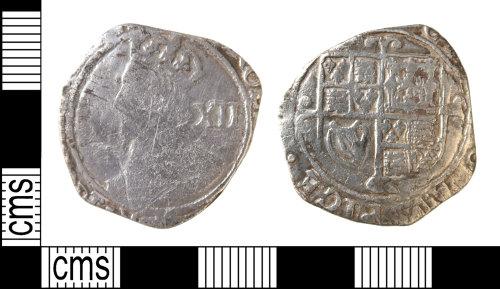 HAMP-968711: Post-medieval coin : shilling of Charles I
