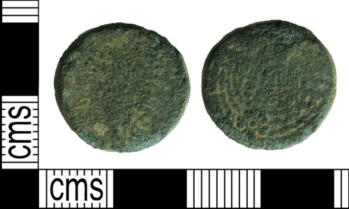 HAMP-998CA9: Medieval coin weight