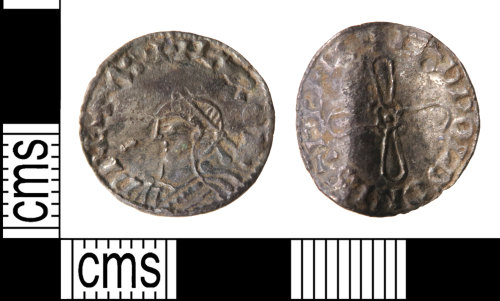 HAMP-9A558A: Early-medieval coin : penny of Harold I