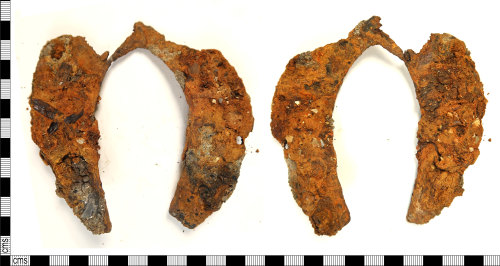 HAMP-A495EC: Medieval - post-medieval horseshoe