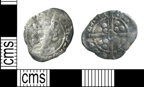HAMP-A6534C: Medieval coin : penny of Edward IV