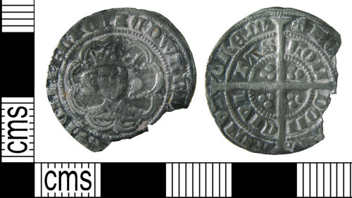 HAMP-A7D3FA: Medieval coin : groat of Edward III