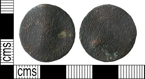 A resized image of Post-medieval jetton : anonymous stock 'rose/ orb' issue