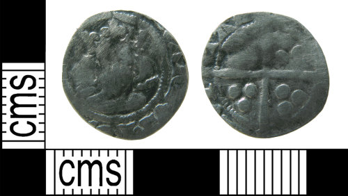 HAMP-AC54A8: Medieval coin : penny of Edward III