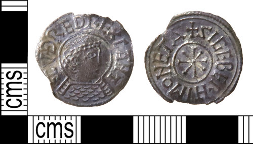 HAMP-B5C395: Early-medieval coin : penny of Cuthred