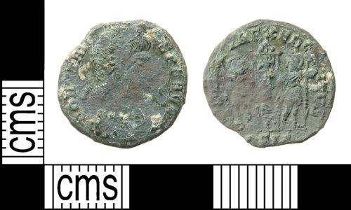 HAMP-B826B6: Roman coin : nummus of Constans
