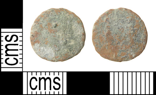 HAMP-B8923C: Roman coin : nummus of the House of Constantine