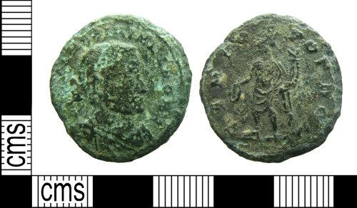HAMP-B99EA8: Roman coin : nummus of Maximinus as Caesar