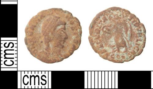 HAMP-BC3CAF: Roman coin : nummus of Gratian