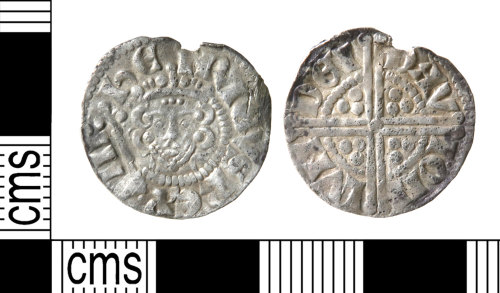 A resized image of Medieval coin : penny of Henry III