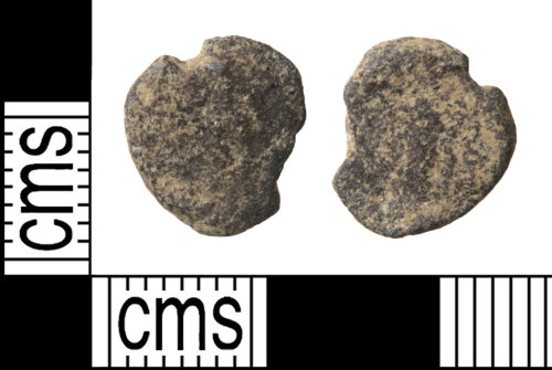 HAMP-BD25E6: Roman coin : possible barbarous radiate copying a coin of uncertain emperor