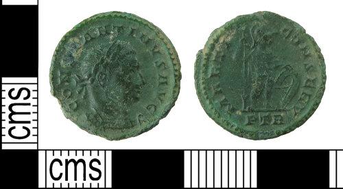 HAMP-C0A791: Roman coin : half-nummus of Constantine I