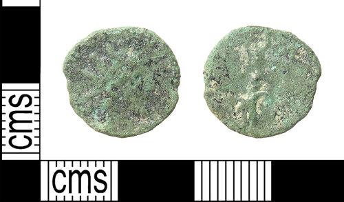 HAMP-CD48DB: Roman coin : barbarous radiate of uncertain emperor