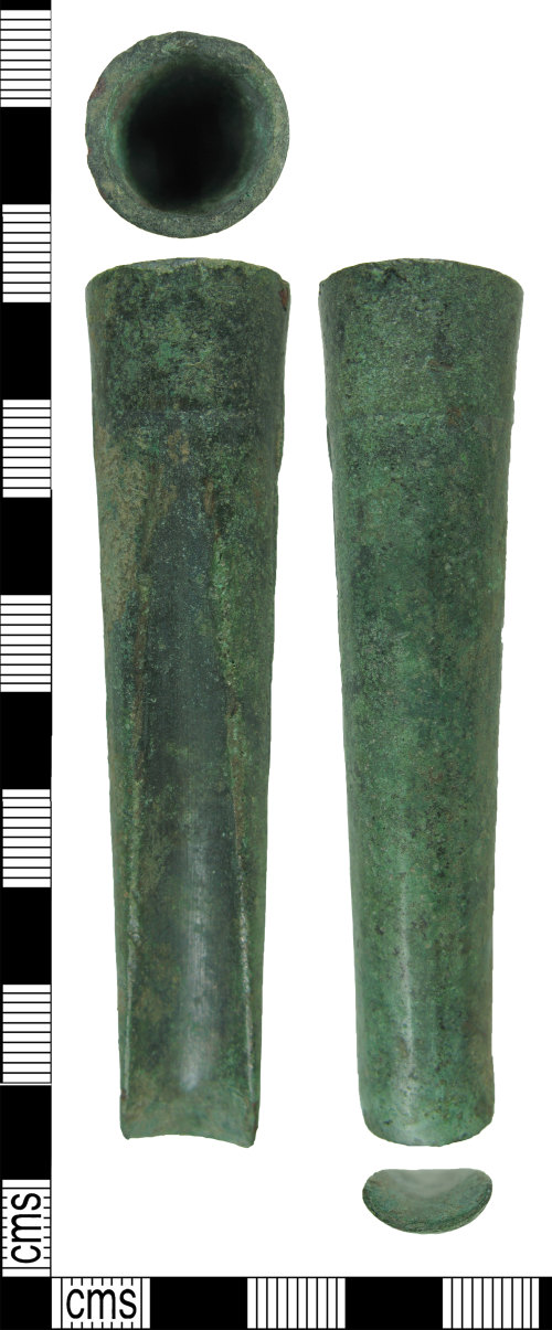 HAMP-D11447: Late Bronze Age socketed gouge