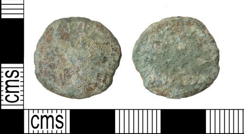 HAMP-E169B6: Roman coin : radiate of uncertain emperor