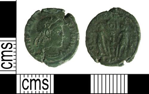 HAMP-EA3B54: Roman coin : nummus of Constans