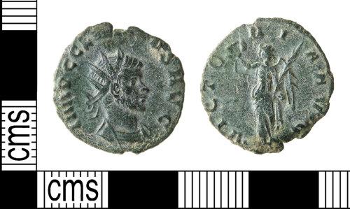 HAMP-FE969E: Roman coin : radiate of Claudius II