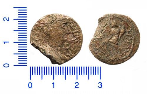 HAMP-DECD4A: Roman provincial coin