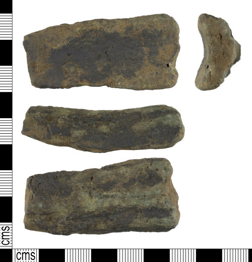YORYM-F8D67D: Medieval to post-medieval cooking vessel rim fragment