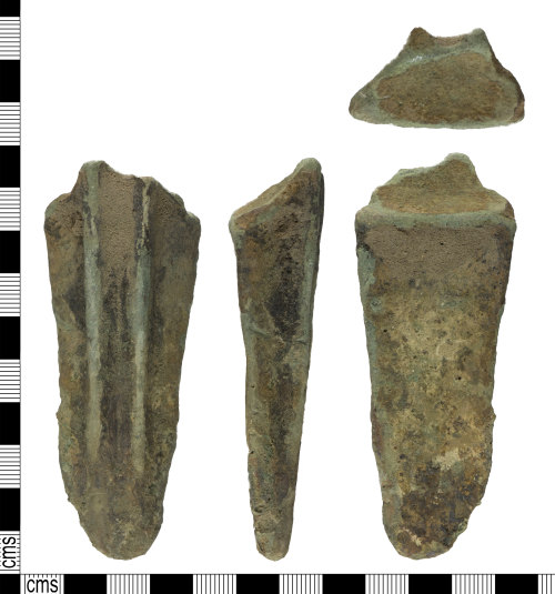 YORYM-FCD251: medieval to post-medieval cooking vessel leg