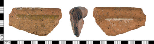 A resized image of Medieval : Vessel Rim Sherd