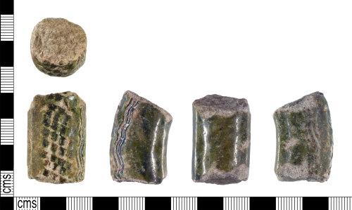 YORYM-81149A: Medieval : Vessel Handle Sherd