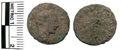 FAKL-DAB456: Coin, denarius, Serverus Alexander