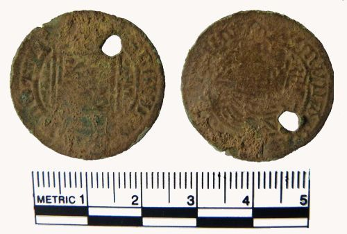 FAKL-90CE44: Jetton, Nuremberg, ship penny type