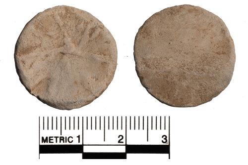 FAKL-8ECC9E: Medieval lead token