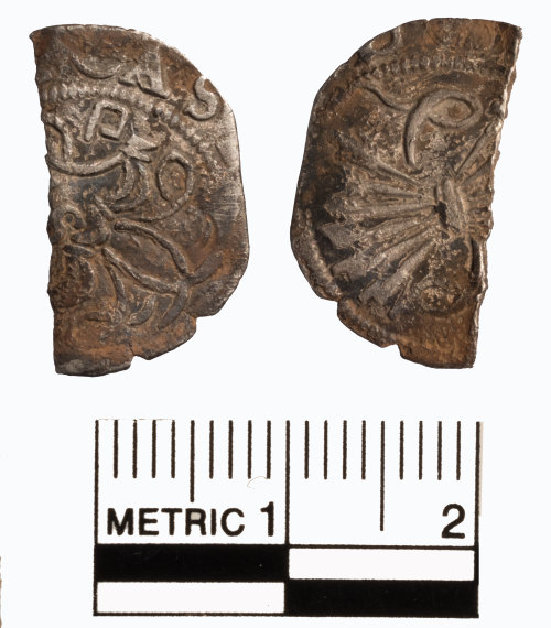FAKL-BA73B6: Late Medieval spanish coin