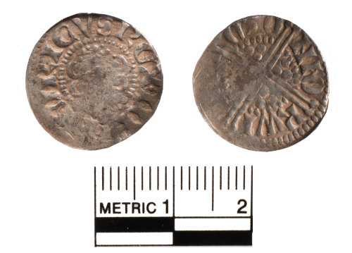 FAKL-FEB549: Medieval coin, penny of Henry III
