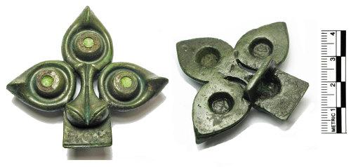 FAKL-19312B: Iron Age Strap fitting