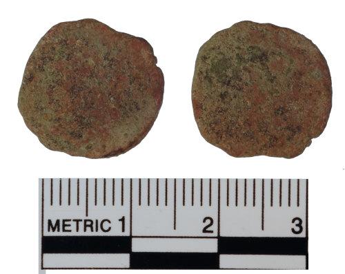 FAKL-07118E: Roman coin, nummus