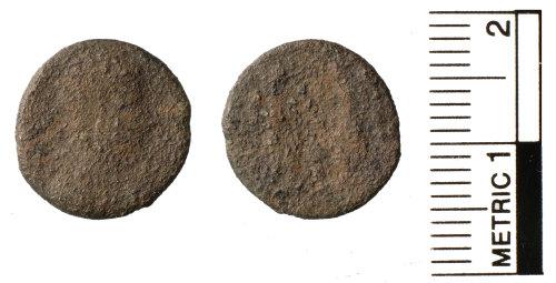 FAKL-4C12DD: Roman coin, Nummus, House of Constantine