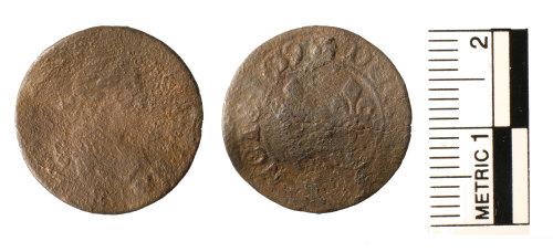 FAKL-0AC1B8: Post Medieval token