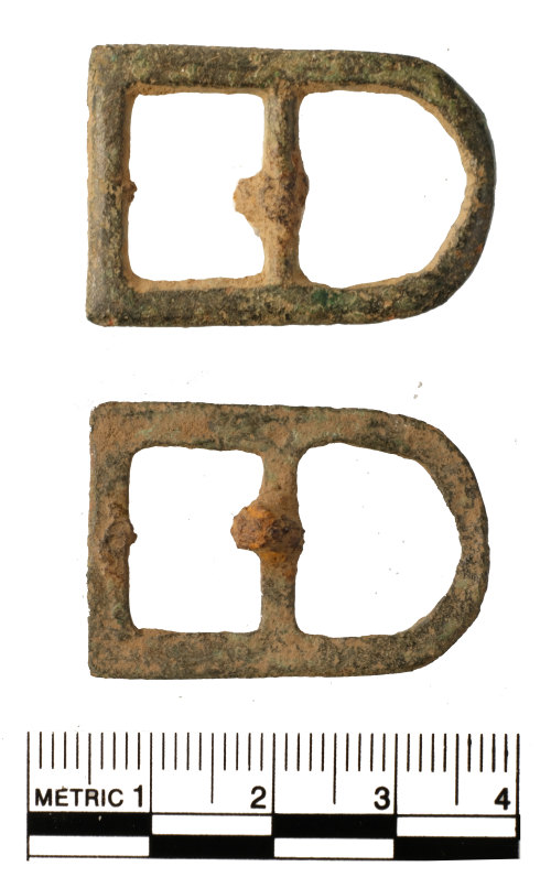 FAKL-9C4A84: Post Medieval buckle