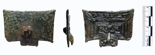 FAKL-4E7F95: Early Medieval great squared-headed brooch
