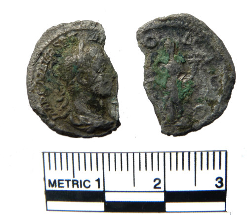 FAKL-E861A1: Roman coin, denarius of Severus Alexander