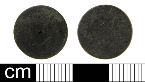 ESS-2DB773: Post Medieval trade weight