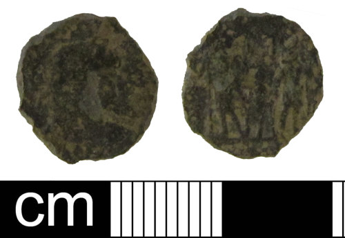 ESS-BAABB5: Roman coin: nummus of the House Constantine